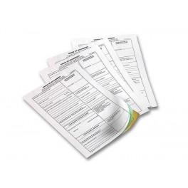 Liasses - carnets autocopiants