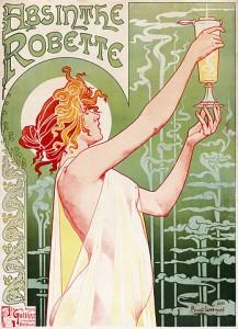 Affiche Absinthe Robette